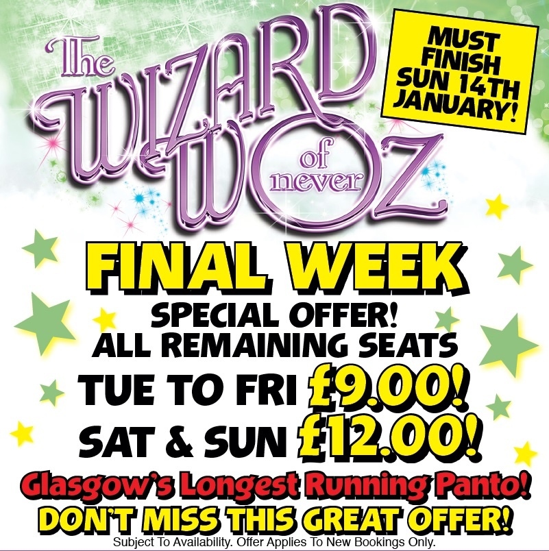 Final Week Special Offers