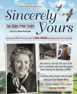 Sincerely Yours: The Vera Lynn Story at the Pavilion Theatre, Glasgow