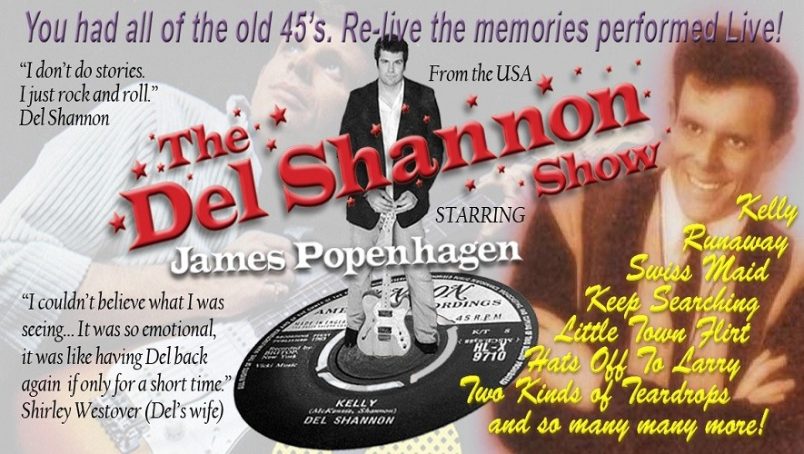 The Del Shannon Show – CANCELLED