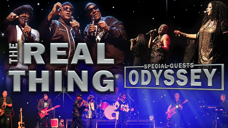 The Real Thing & Odyssey Live! – CANCELLED