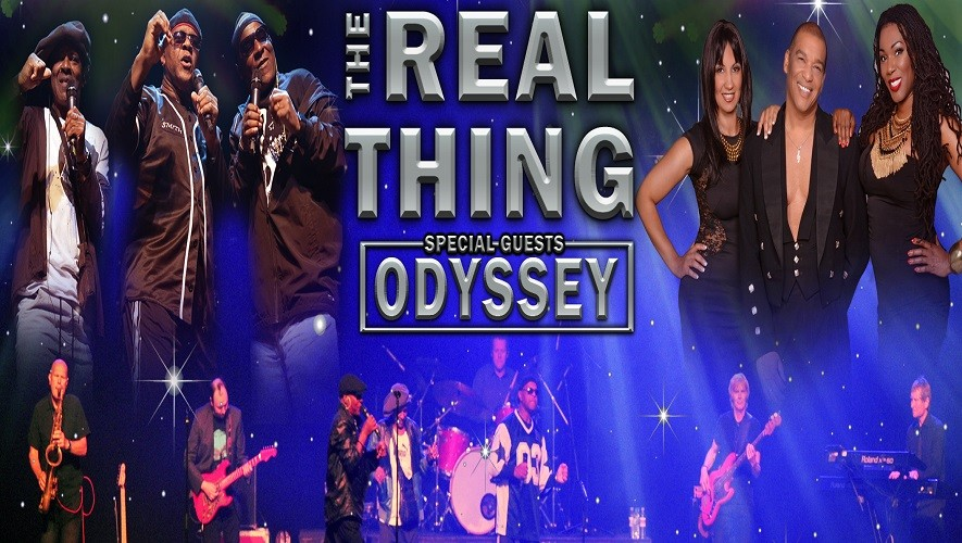 The Real Thing & Odyssey Live!