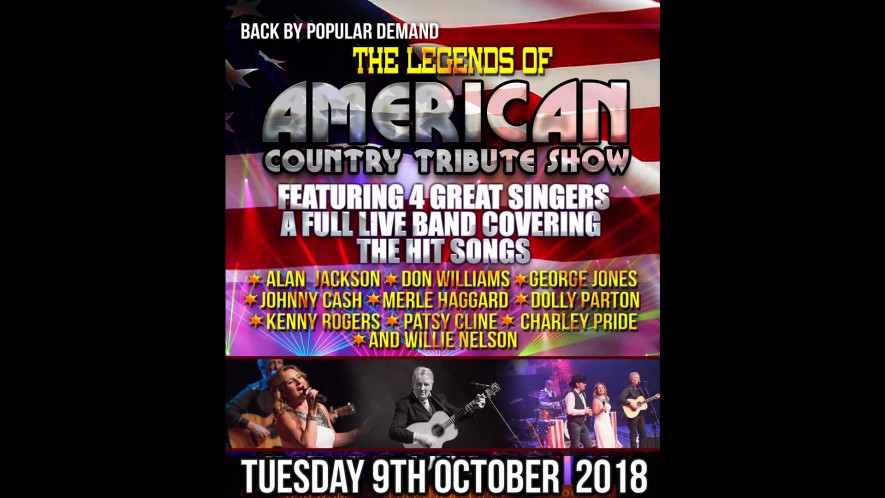 Legends of American Country Tribute Show – NEW DATE