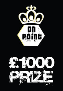 On Point £1000 prize