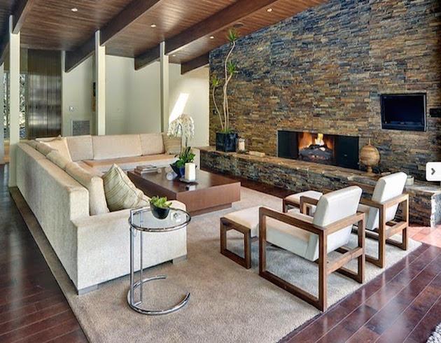 In questo caso, la decorazione della parete in pietra è raccomandata per le stanze. Pareti In Pietra Naturale E Rivestimenti