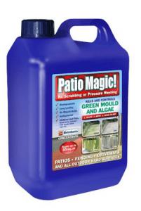 Patio magic cleaner