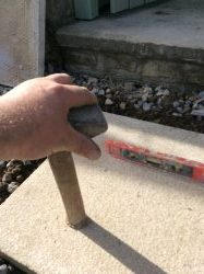 How To Lay Stepping Stones On Gravel Guide On Laying