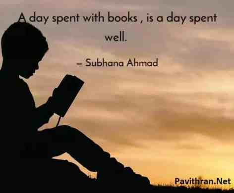 Reading Book quote