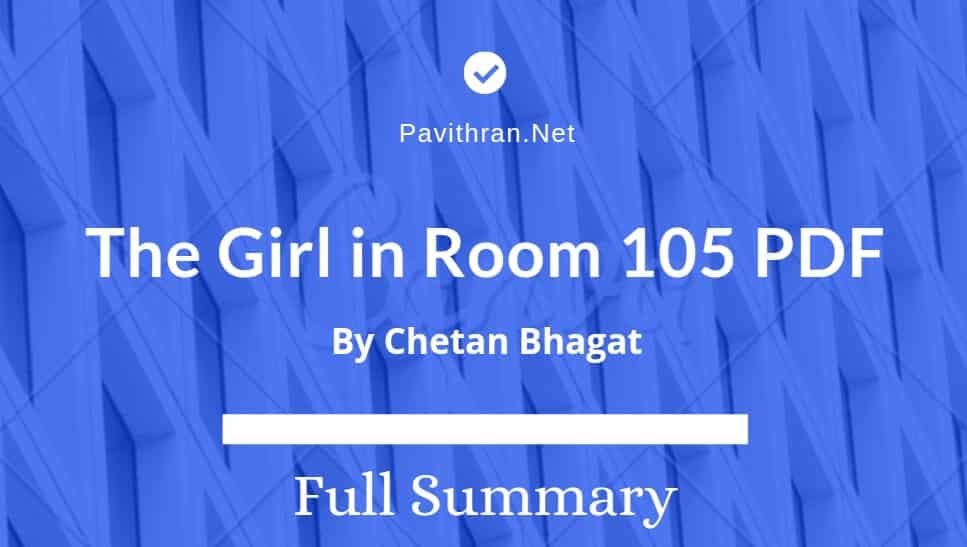 The GIrl in Room 105 Book PDF