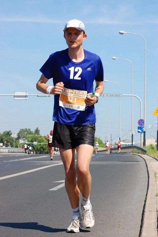 Łódź Maraton 2011 - ulica Maratońska