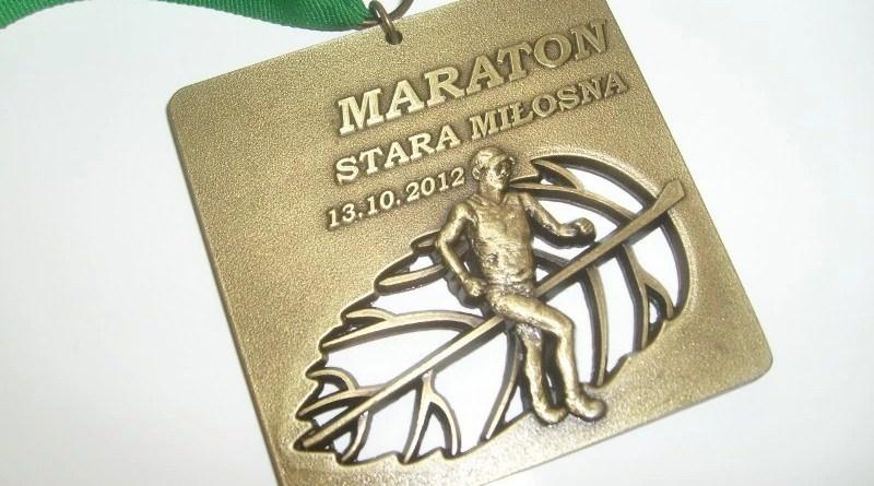 IX Maraton Stara Miłosna - medal