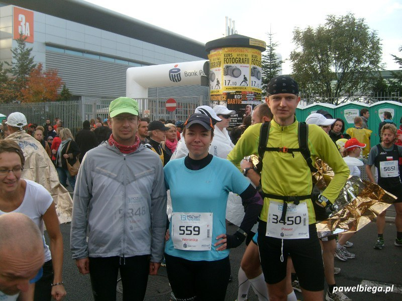 13 Poznan Maraton - na starcie