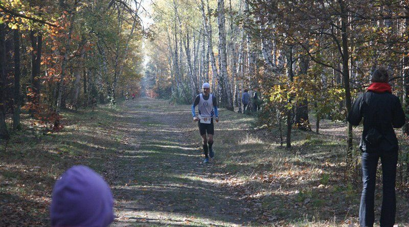 I Maraton Kampinoski - finisz