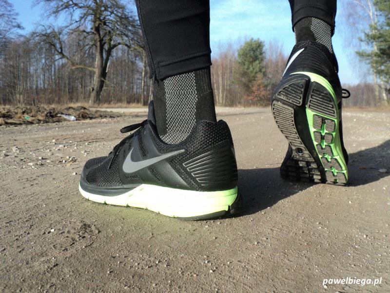 Nike Zoom Structure+ 16 Shield - na nogach