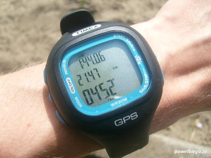 Timex Marathon GPS - na ręku