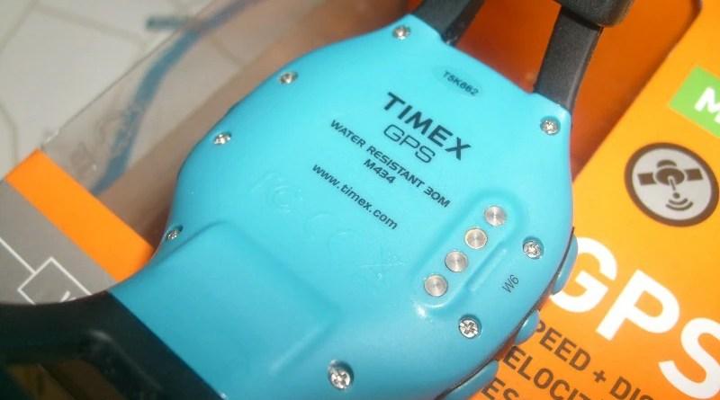 Timex Marathon GPS - tył koperty