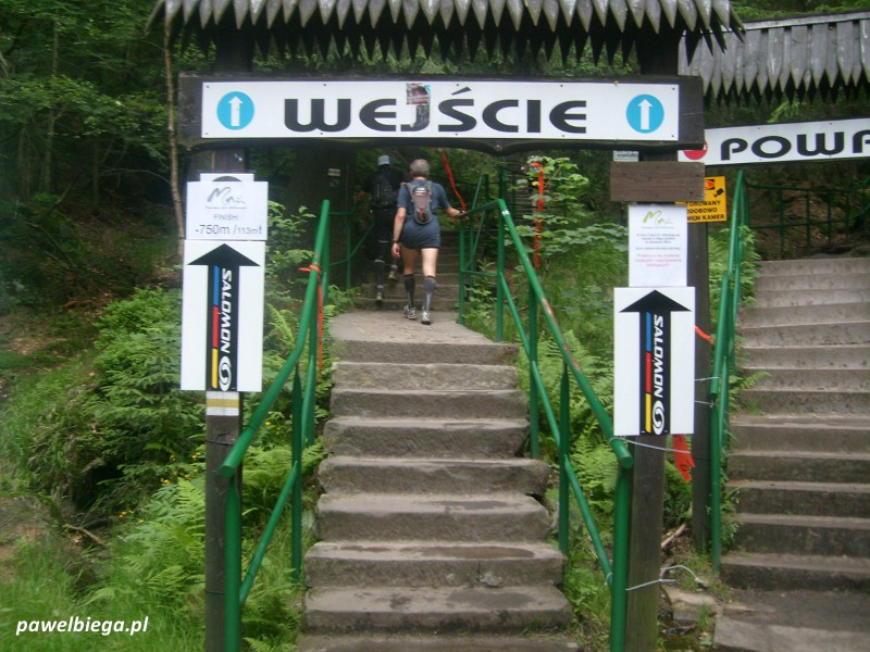 IV Maraton Gór Stołowych - Wejście na Szczeliniec Wielki