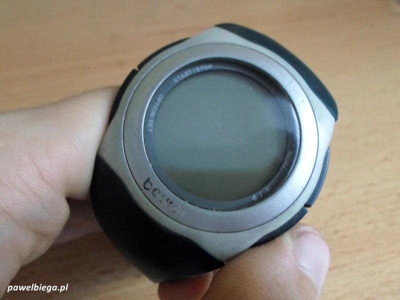 Beurer PM25 - przed wymianą baterii
