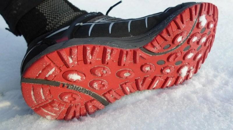 Merrell Mix Master Tuff GTX - bieżnik w śniegu
