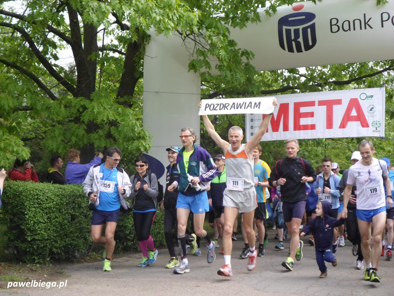 XIV Półmaraton Hajnowski - start