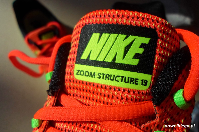 Nike Zoom Structure 19 - detal