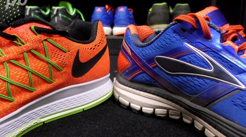 Nike Zoom Pegasus vs Brooks Ghost