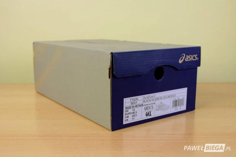 Pudełko - Asics