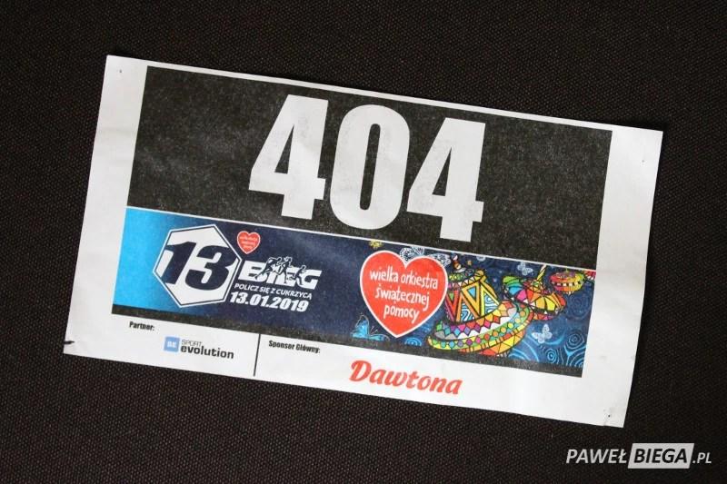 Numer startowy 404