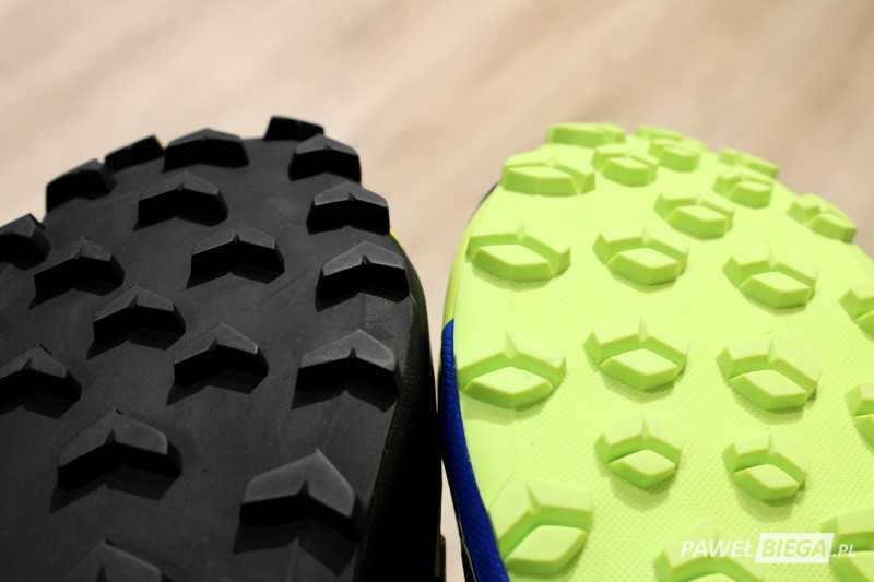 Salomon Speedcross vs Vario - bieżnik