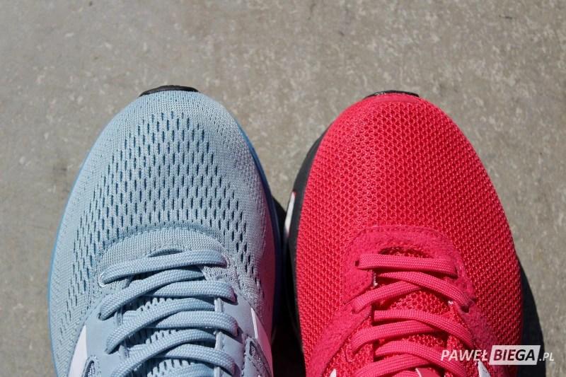 Adidas Adizero Boston vs Adios - toebox