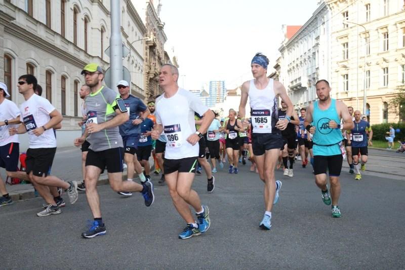 10 Olomouc Half Marathon - trasa
