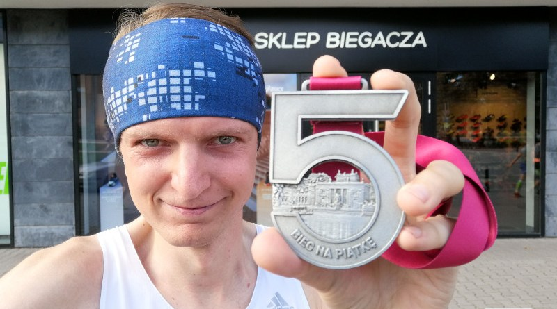 Bieg na Piątke 2019 - medal