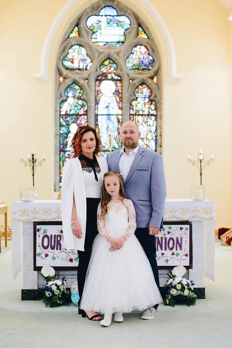 First Communion Saint Bridget's Church.-35