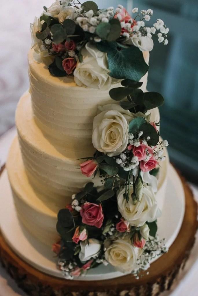 Wedding Cake in Castle Dargan