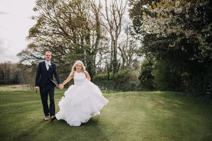 wedding photo session in castle dargan venue