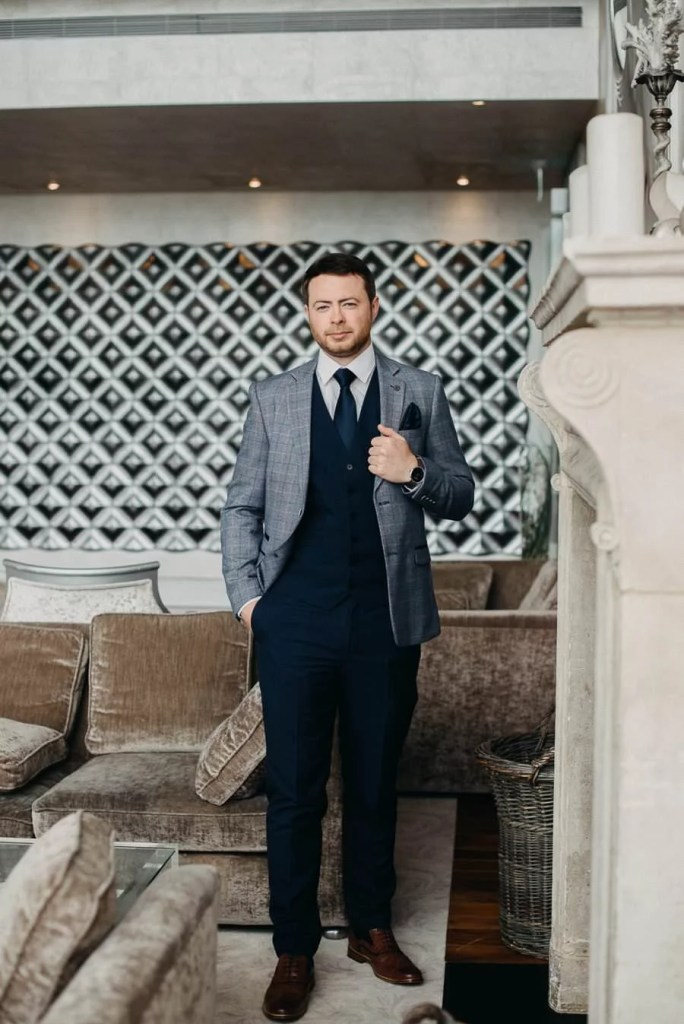 groom in the g hotel galway