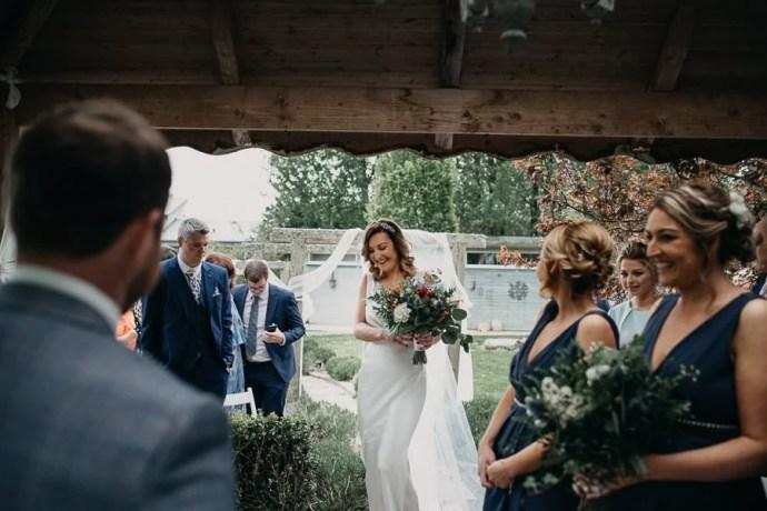 wedding ceremony in Three Towers Eco Lodge