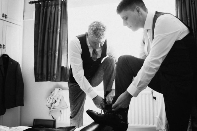 groom's getting ready