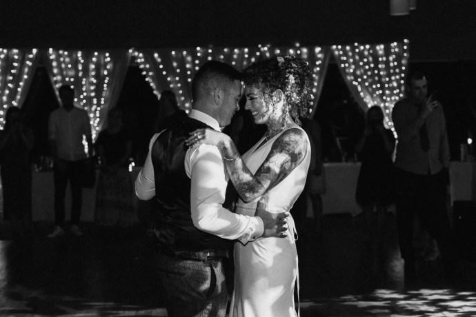 first dance in castle dargan wedding venue