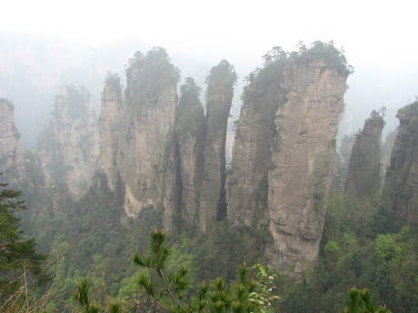 Zhangjiajie - totu kręcono Avatara 9