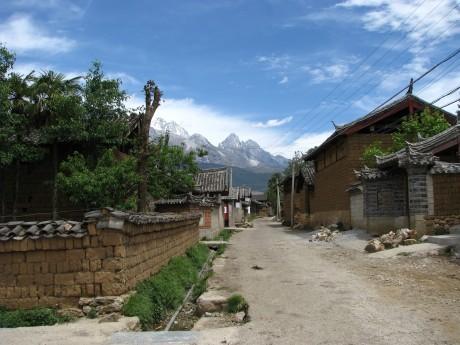 Lijiang - Baisha - rower - góry 4