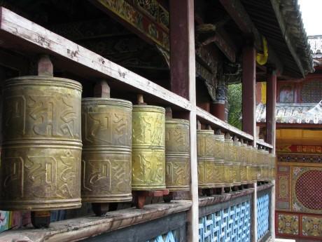 Lijiang - Baisha - rower - góry 18