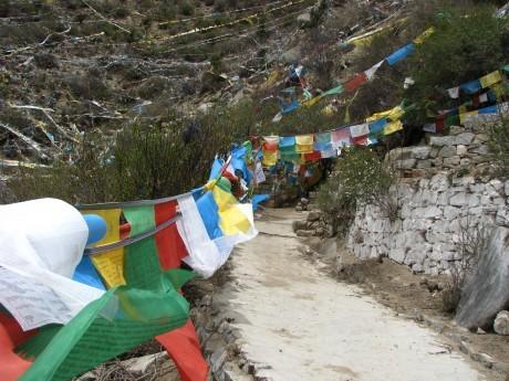 Tybet - Chimphu (Chim-puk) - miejsce domedytacji 19