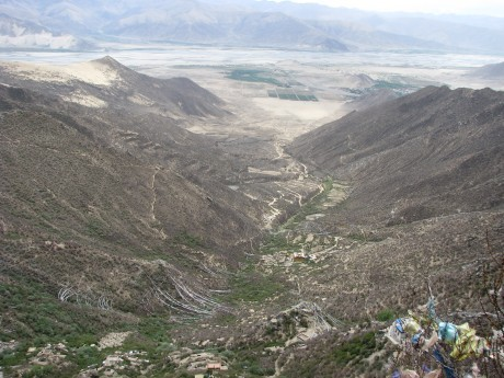 Tybet - Chimphu (Chim-puk) - miejsce domedytacji 27