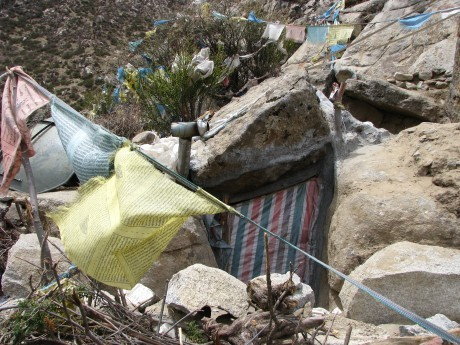 Tybet - Chimphu (Chim-puk) - miejsce domedytacji 29