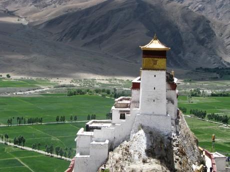 Tsetang i najstarsza budowla w Tybecie 19