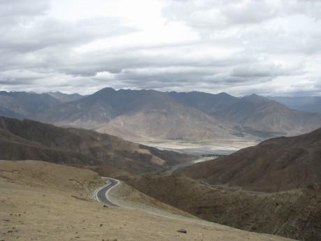 Przez góry (wTybecie) Tsetang - jezioro Yamdrok - Gyantse 3