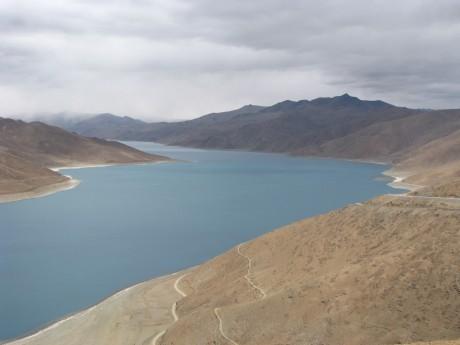 Przez góry (wTybecie) Tsetang - jezioro Yamdrok - Gyantse 8
