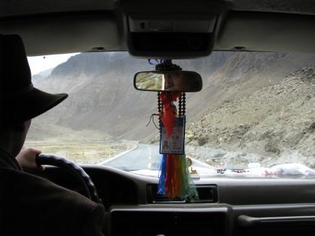 Przez góry (wTybecie) Tsetang - jezioro Yamdrok - Gyantse 12