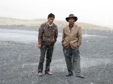 Przez góry (wTybecie) Tsetang - jezioro Yamdrok - Gyantse 24