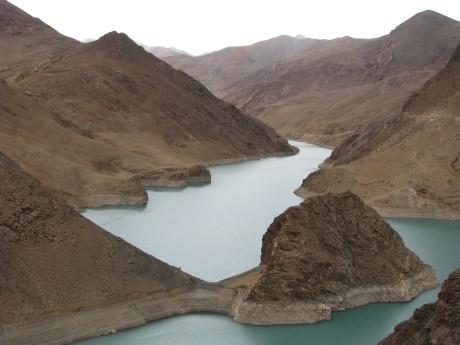 Przez góry (wTybecie) Tsetang - jezioro Yamdrok - Gyantse 26
